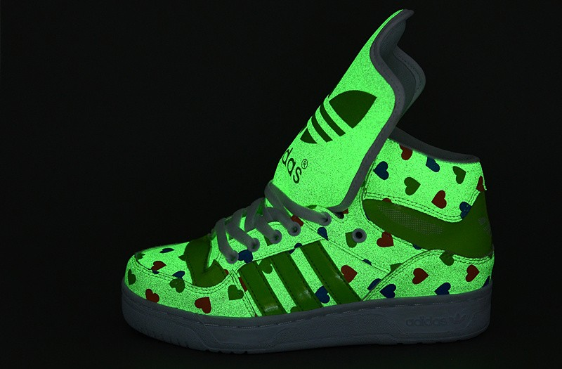 [9QFUjQK] soldes 2015 Adidas Chaussures lumineuses modèles de couples vert - [9QFUjQK] soldes 2015 Adidas Chaussures lumineuses modèles de couples vert-0